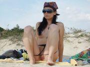 Voyeur en Seks op het Strand