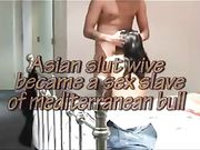 Een Aziatische vrouw ontmoet vriend voor seks